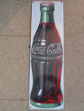 Porcelain Coca-Cola Coke Bottle Sign -NEW