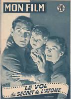 Mon Film N°399 avril 1954 Jean MARAIS, Danièle DELORME