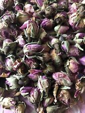 Dried Pink Rose Buds for Tea Cake Gin Cocktail Garnish Table Soap Confetti Decor