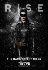 THE DARK KNIGHT RISES Poster Movie (CATWOMAN) BATMAN (27x40) Anne Hathaway