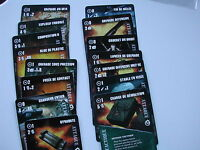 CARTES ARTIFICIER  EN FRANCAIS /OPERATIONS EN EUROPE CYCLE /FIRETEAM ZERO/#E