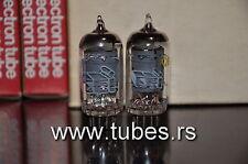 Ef86 6267 Tesla Cei Low Noise Audio - rare Square Getter Nos Nib