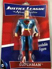 SUPERMAN BENDABLE FIGURE JUSTICE LEAGUE OF AMERICA THE NEW FRONTIER NIP NJCroce