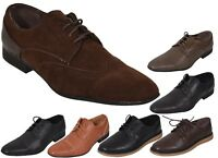 Loyalty & Faith Mens Derby Shoes Cap Toe Lace up Formal Boots UK Size 7-12