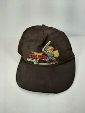 Vintage 1988 Nintendo Of America Legend Of Zelda Brown Cap Hat Authentic Rare
