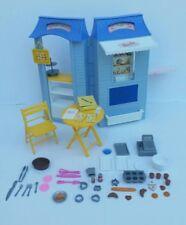 Barbie Bake Shop & Cafe Playset W/Lots of Accessories! - Mattel, 1999 Excellent!