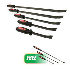 MAYHEW  5 Pc. Dominator® Curved Pry Bar Set with FREE 3 Pc. Dominator® Curved