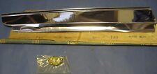 NOS 1974-1975 Pontiac Luxury Lemans right rear lower quarter molding with clips