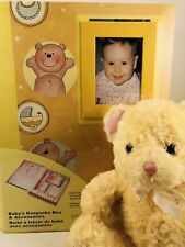 Baby Keepsake Box Carters Plush Teddy Bear Musical 8� Stuffed Animal