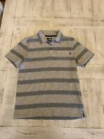 The North Face  Polo Men's Size S Gray Short Sleeve Casual Shirt Mens Polo Shirt