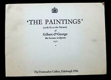 GILBERT AND GEORGE  The Paintings  1986 ART EXHIBITION CATALOGUE