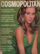 Cosmopolitan Magazine Nov 1967 Anouk Aimee Paula Pritchett Scavullo 080819AME
