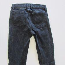 J Brand Size W25 L28 Skinny Black Denim Womens Jeans Stretch