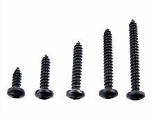 "Ford Black #8 Phillips Pan Head Trim Screws- 1/2"" to 1-1/2"" Long- 125 pcs- #336"