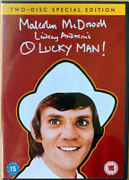 O Lucky Man DVD 1973 If... Sequel British Cult Classic 2-Disc Special Edition