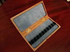 10 reeds reed case for bassoon , drewniane pudelko na 10 stroików do fagotu