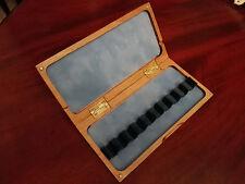 10 reeds reed case for bassoon , drewniane pudelko na 10 stroików do fagotu