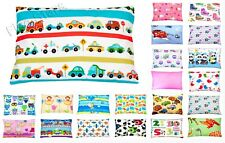 Baby Toddler Kid Boy Girl 100% Cotton Cot Bed Pillowcase 40 x 60 cm Patterned