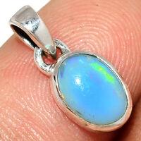 Ethiopian Opal 925 Sterling Silver Pendant Jewelry AP202915