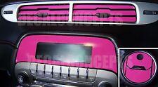 2010-2015 Camaro HOT PINK Interior Dash Decal kit Sticker - Chevy vent