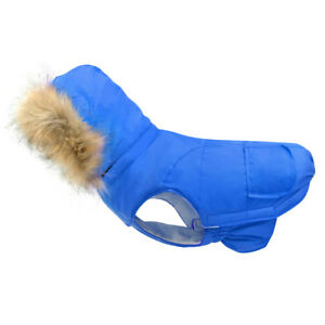 Dog Winter Clothes for Small Dogs Waterproof Coat Jackets Windproof Hoodie S-XL