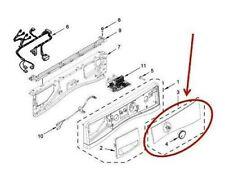 Whirlpool washer control panel W10911024