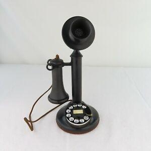 Western Electric 51AL Dial Candlestick Telephone Original Estate Find