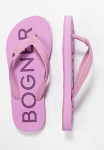 BOGNER DAMEN Zehentrenner Badeschuhe Schuhe Sandale Badelatschen Flop