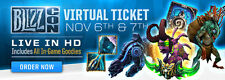 Blizzcon 2015 Digital In-Game Items Code Blizzard Murkidan Pet Heroes Mount WoW