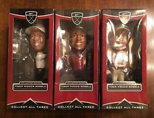 Tiger Woods Bobble Head Series - Nike/Upper Deck Collectible Set (3)