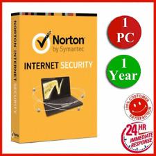 Norton Internet Security 2019 1 Year / 1 PC Antivirus Digital Key - WORLDWID