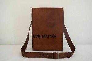 Men New well made Vintage Style Handcrafted Leather Satchel Messenger Laptop Bag