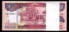 SOMALILAND 1000 SHILLINGS 2015, UNC, ½ BUNDLE PACK OF 50 PCS, CONSECUTIVE, P.20