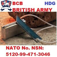 NEW GENUINE BCB BRITISH ARMY/NATO FLINT STEEL MAGNESIUM Survival Fire Starter