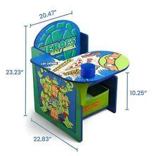 Kids desk- Teenage Mutant Ninja Turtles Chair Desk with Storage Bin