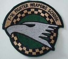 Patch Lockheed F-16 Fighter Weapons School