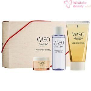 Shiseido Waso Delicious Skin Bento Box 3 Piece Set New In Box