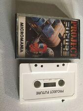 Projet futur zx spectrum sinclair jeu vidéo cassette vintage rétro