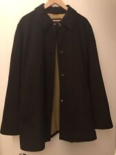 Loro Piana Brown Cashmere Storm System Coat Jacket 48 12 14