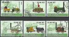 Timbres Trains Mozambique 2590/5 o année 2009 lot 4852 - cote : 19,80 €