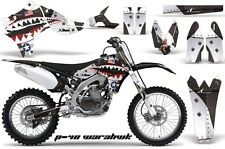AMR Racing Yamaha Graphic Kit Bike Decal YZ 450F Decal MX Parts 10-13 WARHAWK B