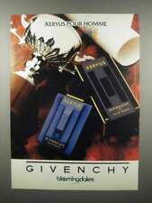 1990 Givenchy Xeryus Pour Homme Cologne Ad