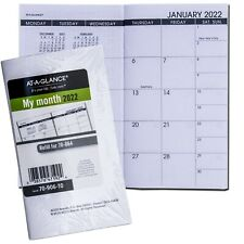 2022 At A Glance 70 906 10 Refill For 70 064 Monthly Planner 3 12 X 6 18