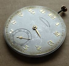 Slim pocket watch movement, Napoleon Chronometre, 42mm, running well.
