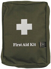 LARGE FIRST AID KIT TRAVEL CAMPING CAR ARMY MOLLE BAG GREEN NEW MILITARY