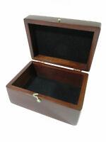 Restored Antique Mahogany Presentation/Jewelry/Storage Box