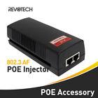 POE Injector IEEE 802.3af 10/100Mbps Power Supply Input 100V-240V Output 48V-56V