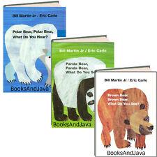 Brown Bear Brown Bear,Panda Bear Panda Bear,Polar Bear..Bill Martin & Eric Carle