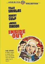 INSIDE OUT - (1975 Telly Savalas) Region Free DVD - Sealed