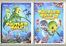 Turtle's Tale 1&2 Sammy's Adventures animated PG family movies, new DVDs Curry
